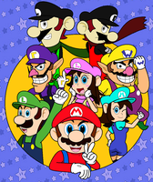 Plumbers (Over 200 Watchers Special Art) by JBX9001