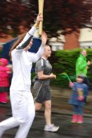 Olympic Torch outside my Studio by mr-macd