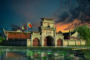 Vietnamese ancient architecture by crystalrain2702