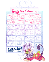 Fenny Advent Calender OPEN by Fenny-Fang