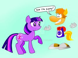 Now Rayman is a pony! by manatello