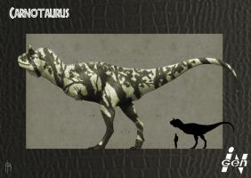 JP Carnotaurus remake by JELSIN