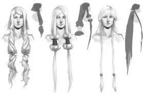 Moon Hair Variations by StacyLeFevre