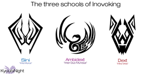 Three Schools Of Invoking by KyuubiNight