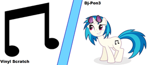 Vinyl Scratch wallpaper by Rose-fang