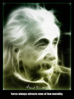 Einstein - Force and Morality by shamantrixx