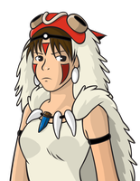 Princess Mononoke by KrimsonAngel