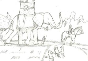 Redwall: Elephant Cover by TroyandFriends