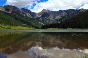 Canoeing in Colorado by JYB-Photography