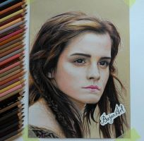 Emma Watson Ila drawing by Bajan-Art