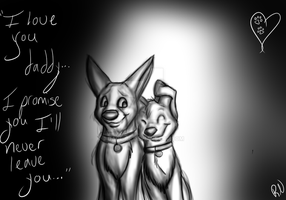 I'll never leave you.. by runecoon