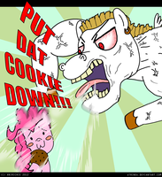 MLP: PUT DAT COOKIE DOWN!!! by AniRichie-Art