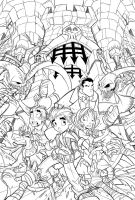Richie Rich Cover 06 Lines by RobDuenas