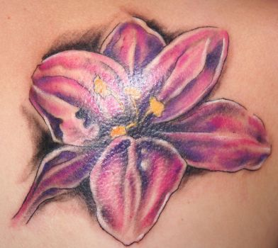 Flower004  Tattoo by 2Face-Tattoo