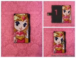 Princess Zelda - Custom Phone Case by VioletValhalla