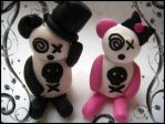 Wedding Pandas. by riOtkittin