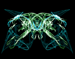 Fractal Butterfly by Synthetic-Solution