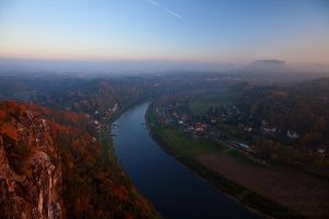 Bastei Elbe by Dave-Derbis