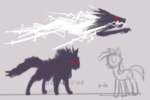 dreamseige: black shucks by moronsonofboron