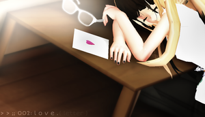 :100thm: 002: love (letter) by aexlyii