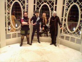 Katsucon 18: Spike, Jet, Julia, and Vicious by SpikeJet2736