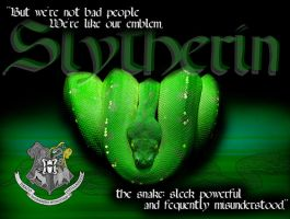 Slytherin, The Snake by StormRider93