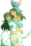Lilo And Jade by Sogequeen2550