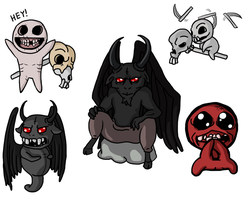 Binding of Isaac Stuff by necroxeno