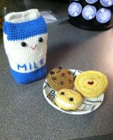 Got milk and cookies? by Yarnigurumi