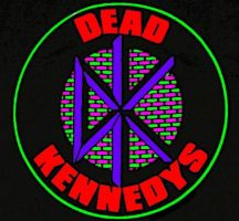 Dead Kennedys Logo pop art by zombis-cannibal