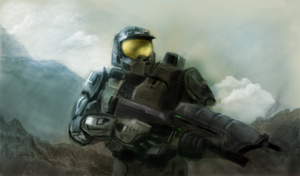 Master Chief by StrawHat95