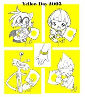 Yellow Day is Community Spirit by chibi-jen-hen