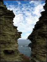 Through Tintagel Ruin by parallel-pam