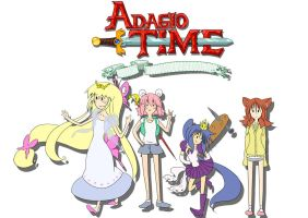 adventure time - adagio time by VIVACEco