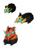 My electric rodents by sLacka18