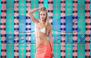 Ranifly Bikini, and skirt by emilyrosecaspe