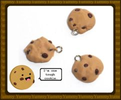 Chocolate Chip Cookie Charms by chat-noir