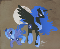 The mare of the moon by bowich