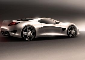 Mercedes_Coupe concept by Morfiuss
