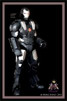 WAR MACHINE IRON MAN 2 ARMOR by Alexwazz
