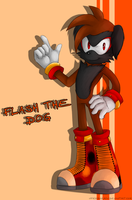 AT::Flash the Dog by Nero-Blackwing