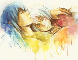 Nezumi and Shion by Leloucha