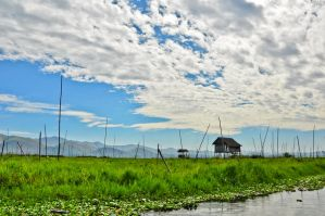 Inle lake, Burma by aloxey
