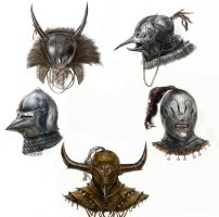 Helmet designs by MDA-art