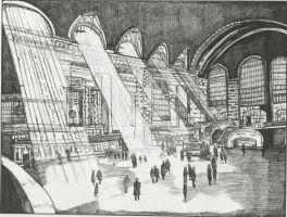 Grand Central Station circa 1926 by rori77
