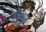 Guilty Crown (colored) by Izham-ZK9
