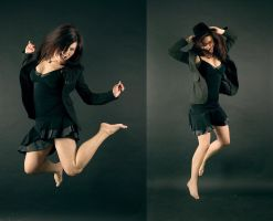jumping Katja by andycat