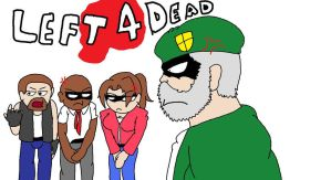 Left 4 Dead Mad At Francis by AllenGutairHero