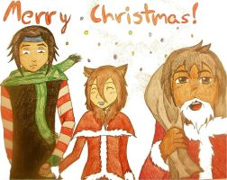 Merry Christmas! by EleeArt