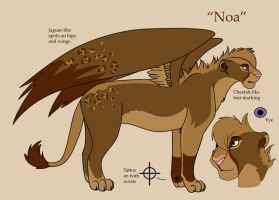 Noa Charactersheet by TorazTheNomad